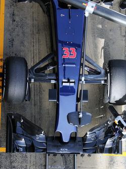 Max Verstappen, Scuderia Toro Rosso STR11 - nosecone