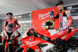 Joshua Brookes, Milwaukee BMW und Karel Abraham, Milwaukee BMW