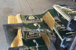 Aerodynamik-Detail bei Chevrolet