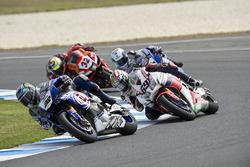 Alex Lowes, Pata Yamaha, Nicky Hayden, Honda WSBK Team, Sylvain Guintoli, Pata Yamaha et Lorenzo Savadori, IodaRacing Team