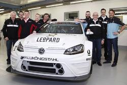 Stefano Comini und Jean-Karl Vernay, Leopard Racing WRT VW Golf TCR