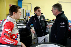 Ben Barnicoat, HitechGP, Dallara F312 – Mercedes-Benz,George Russell, HitechGP, Dallara F312 - Mercedes-Benz