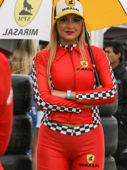 Chica del Paddock Argentina Mirasal