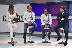 Felipe Massa, Williams und Valtteri Bottas, Williams mit  Manfredo Rossi di Montelera und Federica Masolin