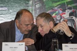 José Abed, Vizepräsident FIA Méxiko und Jean Todt, FIA Präsident