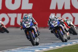 Alex Lowes, Pata Yamaha und Sylvain Guintoli, Pata Yamaha