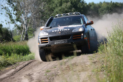 #20 Porsche Russia Team 1 Porsche Cayenne S Transsyberia: Denis Levyatov and Sergey Talantsev