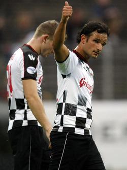 Nazionali Piloti vs. VIP football match: Vitantonio Liuzzi, Test Driver, Force India F1 Team