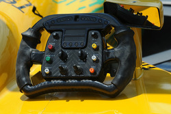 Will Power's steering wheel