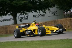 Andrew Tate, 2003 Jordan Ford EJ13 (ex Giancarlo Fisichella)