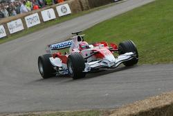 Kamui Kobayashi, 2007 Toyota TF107