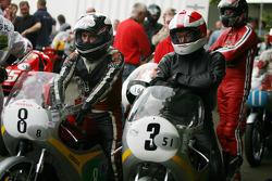 Tommy Robb, Honda RC163, Ralph Bryans, Honda RC171