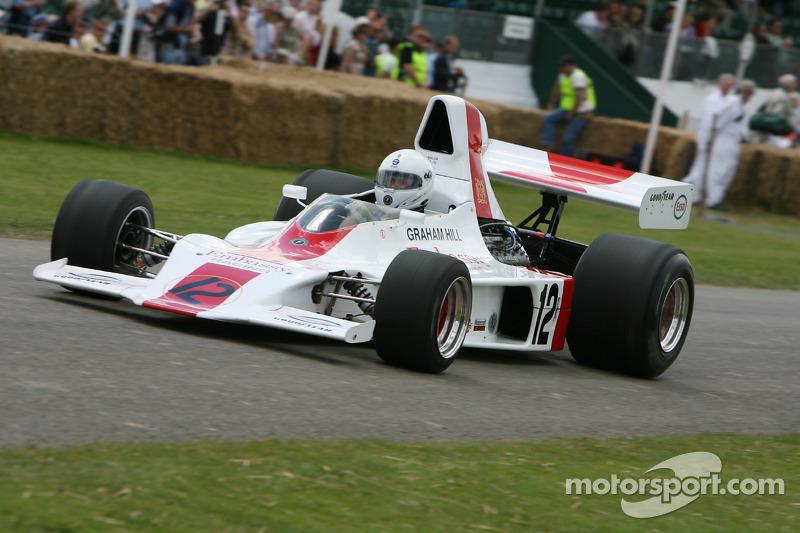 Деріл Тейлор, 1973 Shadow-Cosworth DN1 (колишня машина Грема Хілла)