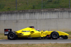 The new A1GP Powered by Ferrari car 2008-09 driven by Andrea Bertolini