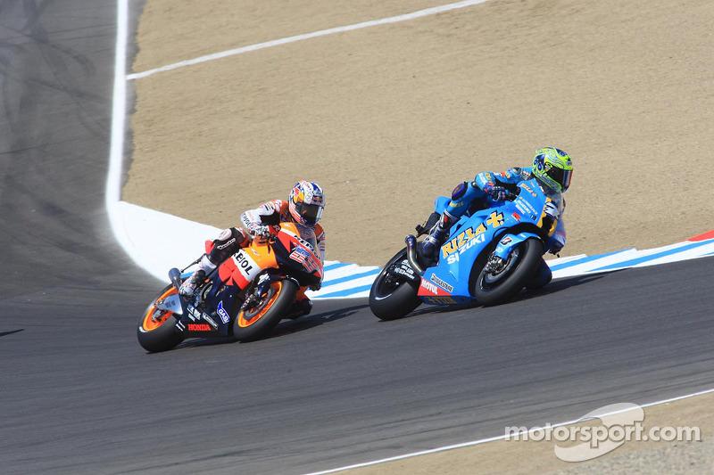 Chris Vermeulen et Nicky Hayden