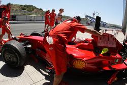 Kimi Raikkonen, Scuderia Ferrari, F2008