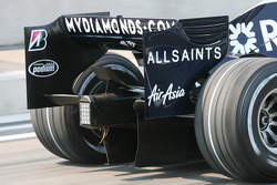 Diffuser Feature, Williams F1 Team