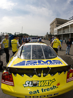 Subway Dodge in the tech inspection line
