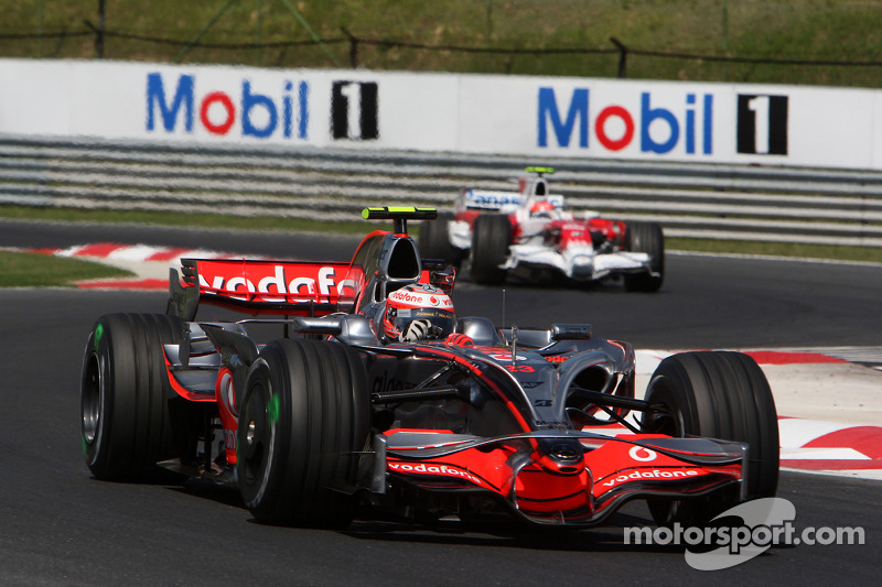 Хейкки Ковалайнен, McLaren – Гран При Венгрии 2008 года