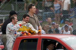 Patrick Carpentier and Jacques Villeneuve