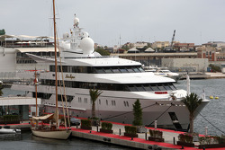 The boat of Vijay Mallya, Force India F1 Team, Owner and Kingfisher CEO, the Indian Empress