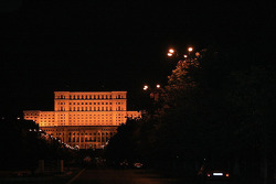 The Presidential Palace by night
