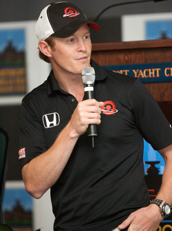 Detroit Grand Prix media lunch at the Detroit Yacht Club: Scott Dixon