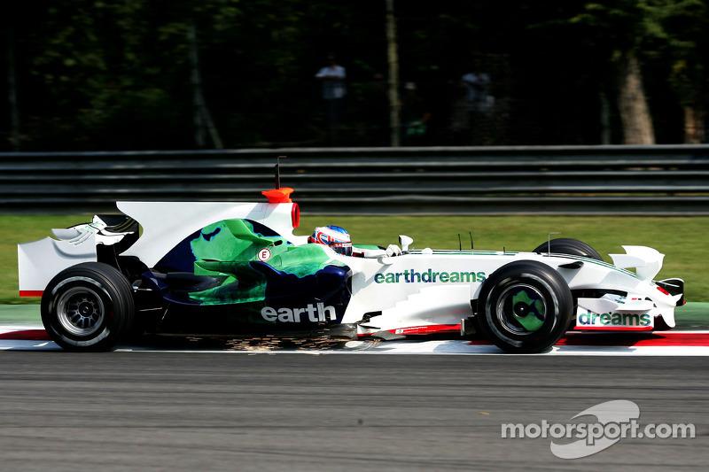 F1, Monza-Test 2008: Jenson Button, Honda RA108