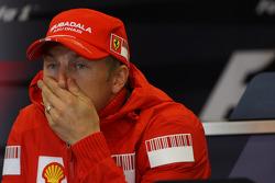 FIA press conference: Kimi Raikkonen, Scuderia Ferrari