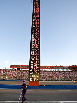 The scoring pylon