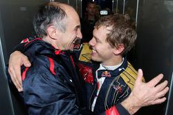 Franz Tost, Scuderia Toro Rosso, Teamchef; Sebastian Vettel, Scuderia Toro Rosso
