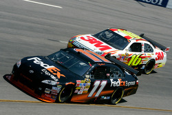 Denny Hamlin and Greg Biffle