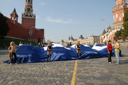 Presentation at Red Square