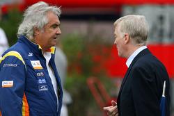 Flavio Briatore, Renault F1 Team, Team Chief, Managing Director, Max Mosley, FIA President