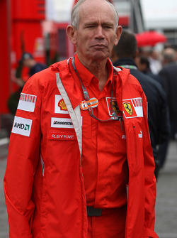 Rory Byrne, Scuderia Ferrari, Design and Development Consultant