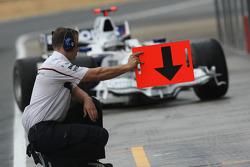 L'équipe F1 BMW Sauber