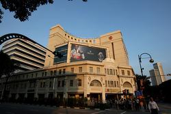 Singapore City, Lewis Hamilton, McLaren Mercedes billboards