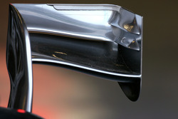 McLaren Mercedes wing detail