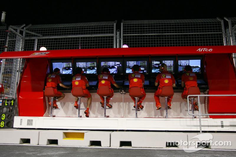 Kommandostand: Scuderia Ferrari