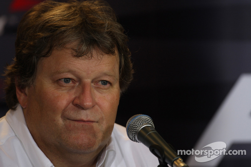 Norbert Haug, Mercedes, Motorsportchef