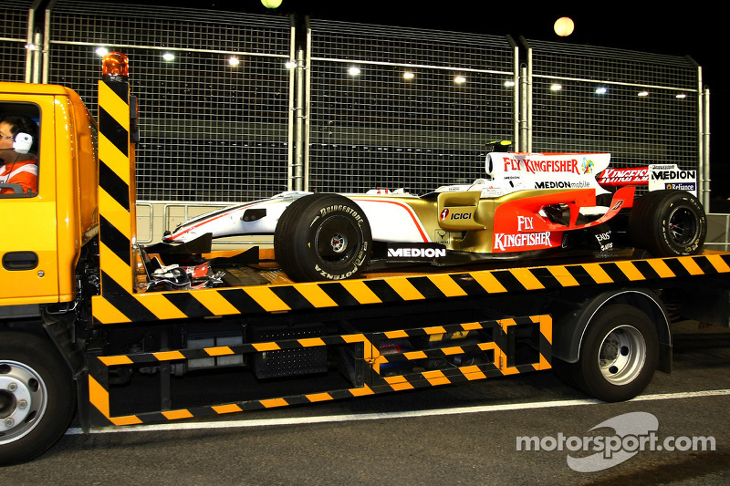 Giancarlo Fisichella, Force India F1 Team, VJM-01