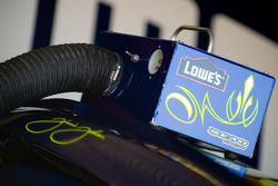 Detail of the Lowe's Chevy