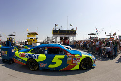 Kelloggs CarQuest Chevy on the starting grid