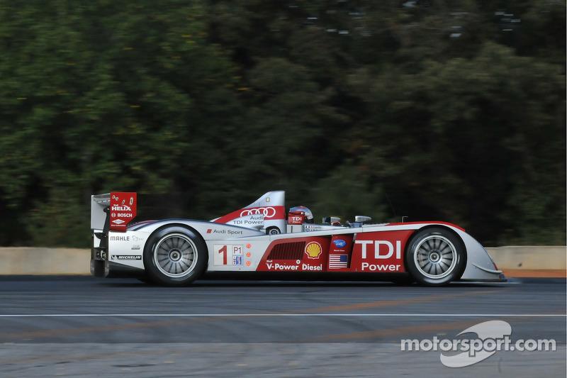1 Audi Sport North America Audi R10 Tdi Rinaldo Capello