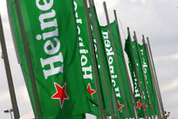 Heineken flags