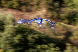 Brice Tirabassi et Fabrice Gordon, Subaru World Rally Team, Subaru Impreza WRC