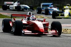 #25 Karl-Heinz Becker, WS Dallara Nissan, #31 Henk De Boer,Coloni FC188, #13 Phillip Keen, Benetton B194, #10 Frits Van Eerd, Tyrrell 026
