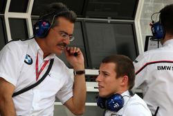 Dr. Mario Theissen, BMW Sauber F1 Team, BMW Motorsport Director, Christian Klien, Test Driver, BMW Sauber F1 Team