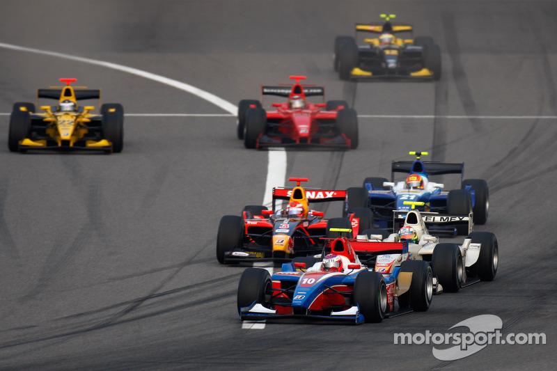 Hamad Al Fardan devant Sergio Perez, Luiz Razia, Diego Nunes et Michael Herck