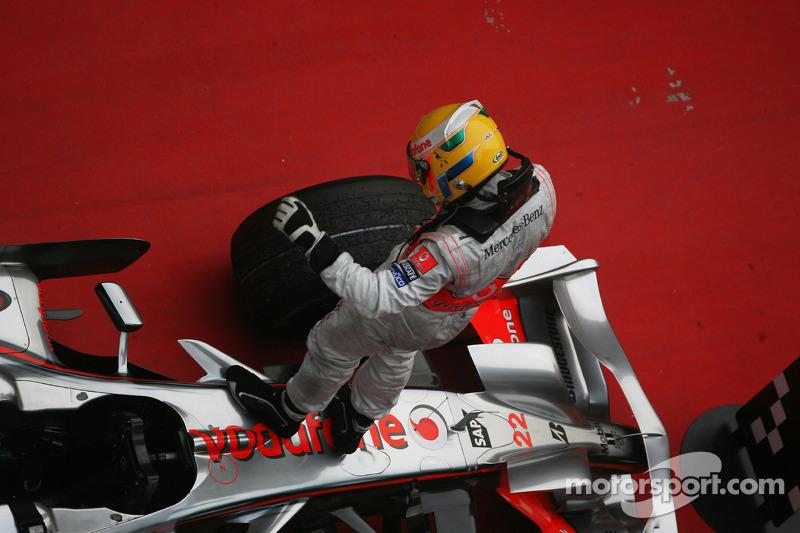 2008 Çin GP: Lewis Hamilton, McLaren Mercedes MP4-23